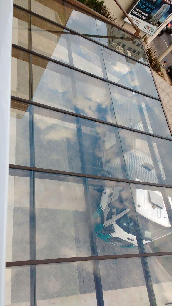 Cobertura em vidro